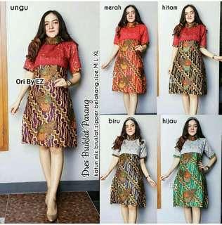 Batik dress pawang
