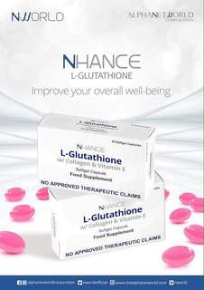 L-GLUTATHIONE WITH COLLAGEN & VITAMIN E