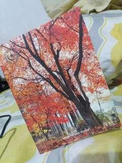 Nami Island Korea (memo pad/notebook)