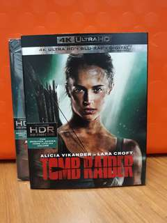 USA Blu Ray 4K UHD - Tomb Raider 4K (ATMOS)