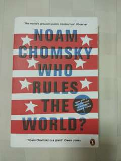 Who Rules the World - Noam Chomsky