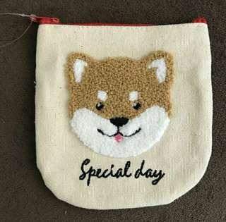 柴犬紙巾套連散紙包