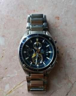 Casio Edifice blue watch男裝錶