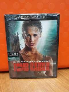 USA Blu Ray 4K UHD - Tomb Raider 4K (ATMOS)