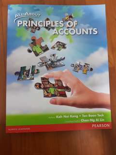 All about Principles Of Accounts Textbook