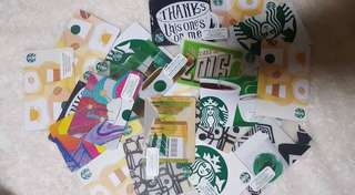 SALE!! STARBUCKS CARDS ( COLLECTIBLES )