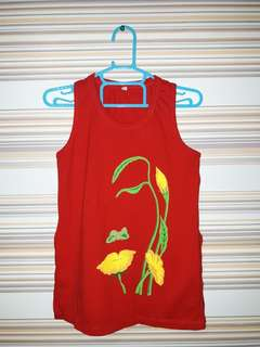Red Tee / Top (for Kids)