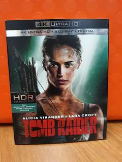 USA Blu Ray Slipcase - Tomb Raider 4K