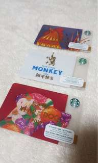 STARBUCKS CARDS ( limited edition )