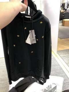 Dior Homme 18ss 早秋蜜蜂刺繡衛衣,XS-XXL碼男女同款,量少 $3990 保證100%Real