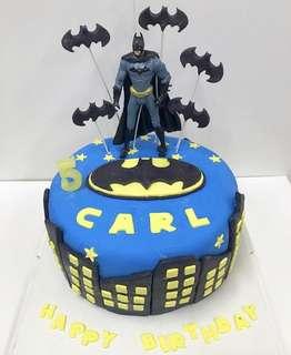 立體蛋糕 3Dcake 百日宴蛋糕 生日蛋糕 蝙蝠俠蛋糕 batman蛋糕