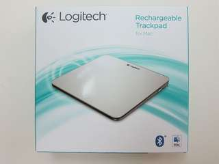🚚 Logitech Rechargeable Trackpad for Mac ( BNIB )
