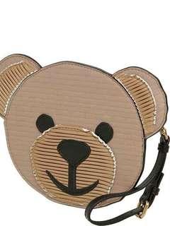 Moschino熊仔頭小手包