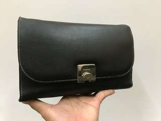 Authentic Esquire Leather Clutch Bag