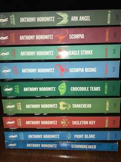 🚚 Entire Alex Rider Series