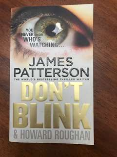 🚚 Dont blink - by James Patterson