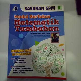 modul Berfokus Matematik Tambahan (SPM)