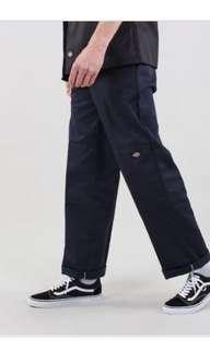 🚚 Dickies knee loose fit 85283 navy 藍色寬鬆 雙膝 工作褲
