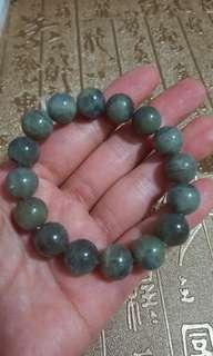 拉長石水晶手鏈,$150。