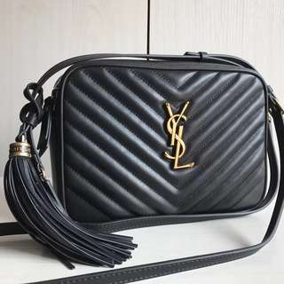 Saint Laurent Chevron Camera Shoulder Bag (Just look at the price without looking at quality.Please bypass,Tq)