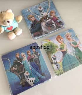 Frozen theme party goodies favors (puzzle), goody bags gift