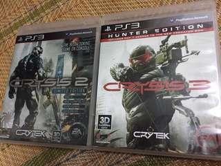 Crysis 2 & 3 Bundle PS3