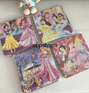 Princess theme jigsaw puzzle/ children goodies bag gift