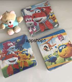 Super wing theme jigsaw puzzles- preschool party goodies bag, goody bag gift