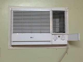 LG window type aircon 2HP