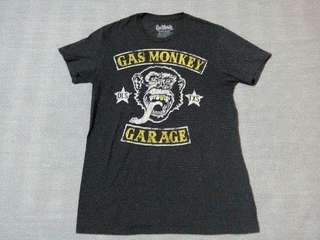 Tshirt monkey garage
