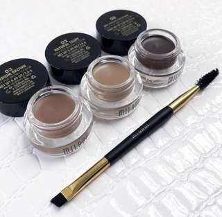 🚚 Milani Stay Put Brow Colour Brow Pomade WITH BRUSH