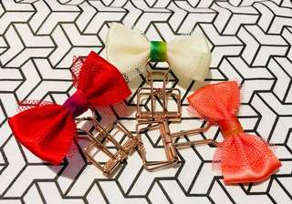 Bow Clips (Set of 3)