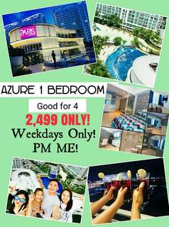 AZURE 1 BEDROOM GOOD FOR 4PAX