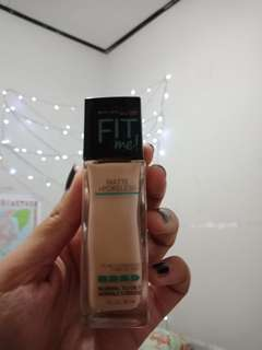 FREE ONGKIR MAYBELLINE FOUNDATION FIT ME MATTE PORELESS SHADE 120