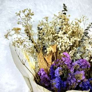Dried Baby'sbreath bouquet