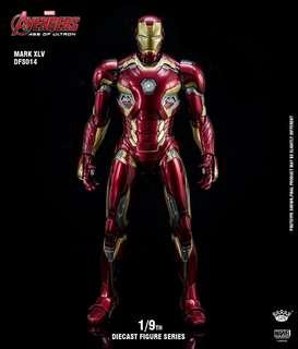 King Arts DFS014 Diecast Iron Man Mark 45