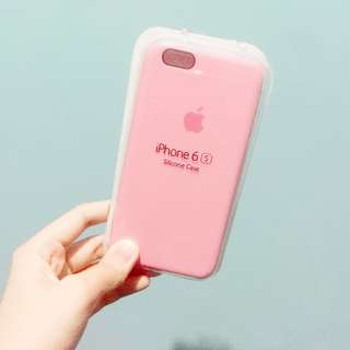 iPhone 6/6S Pink Silicone Case