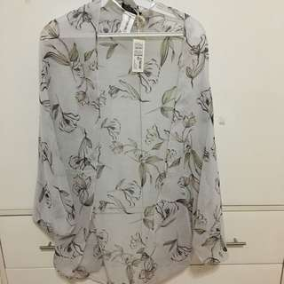 COTTON ON Floral Print Kimono