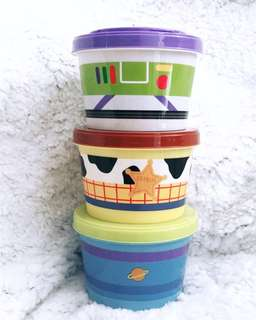 Toy Story - Icon Series Joint Container (3 pcs set)