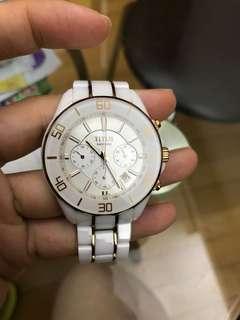 TITUS陶瓷錶帶一隻(白色)