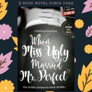 PREMIUM : EBOOK PDF NOVEL WHEN MISS UGLY MARRIED MR.PERFECT