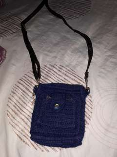 Crochet sling bag small size