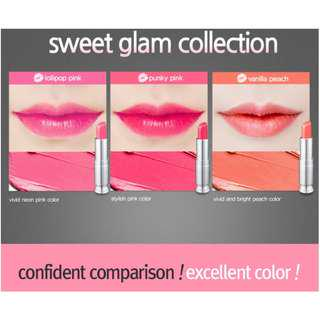 SECRET KEY Sweet Glam Tint Glow #Vanilla Peach 3.5g