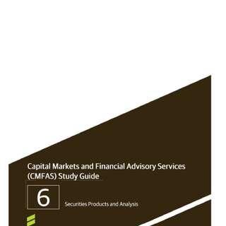 Free CMFAS M6 in PDF format