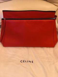 Celina Edge Bag Leather Large