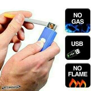 Korek Api Elektrik USB Lighter Tanpa Gas Rechargeable