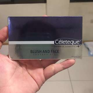 Celeteque Blush and Face Contour Kit (Peach)