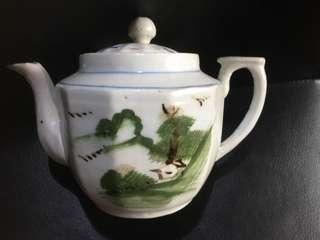 民国醴陵釉下彩茶壶
