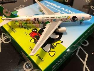 Phoenix 1:400 Eva Air 長榮航空 A330-300 B-16331 酷企鵝彩繪 飛機模型