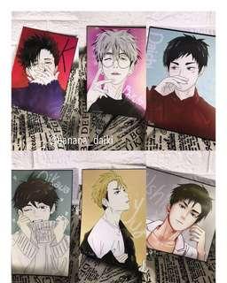 Anime haikyuu Postcard
